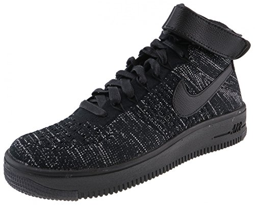 NIKE SCARPE AIR FORCE 1 FLYKNIT 818018 002 BLACK LIMITED EDITION DONNA-37 1/2