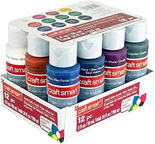 Craft Smart Acrylic Paint 12 Pack Value Set (Jewel)