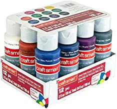 Craft Smart Acrylic Paint 12 Pack Value Set (Jewel)