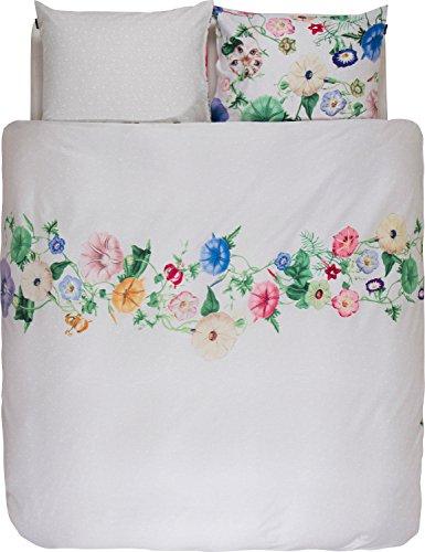 Essenza reversible duvet cover set satin white-colourful size 80x80 cm / 155x220 cm