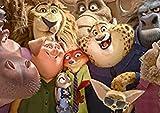 YYTTLL Rompecabezas, Rompecabezas De Madera Zootropolis De Película De Animación De 1000 Piezas, para Adorno del Hogar, Rompecabezas De Regalos