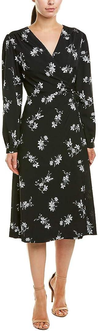 kensie Women's Simply Floral Wrap Dress