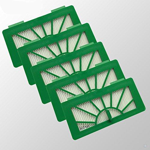 Lot de 5 Filtre HEPA Allergie Pour modèles Neato XV11 xv12 XV15 xv21 XV25 XV Signature et Vorwerk Kobold VR100