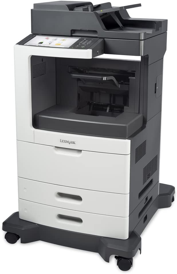 Lexmark 24T7407 (MX810DE) Monochrome Laser Printer with Scanner, Copier & Fax