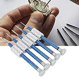 Tournevis de réparation de montre multifonctionnel 5-en-1 tournevis accessoire de montre Durable pour la réparation de montre avec augmentation de la force