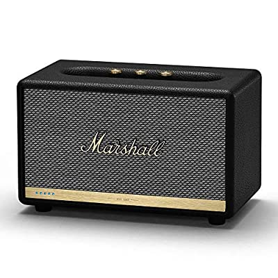 Marshall Acton II Voice Activated Bluetooth Speaker - Black by Zound Industries