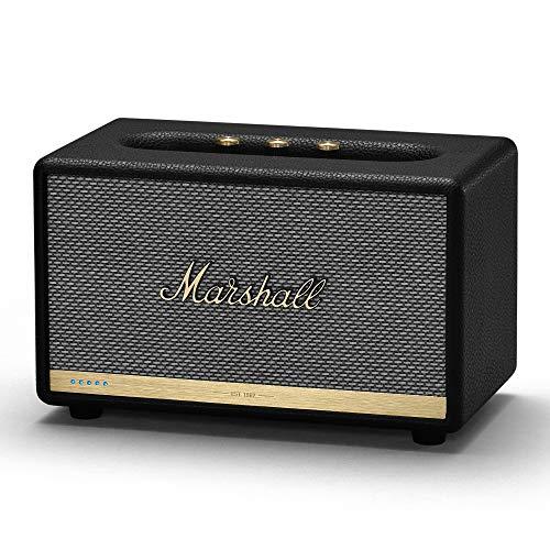 Marshall Acton II mit Amazon Alexa - Sprachaktivierter Bluetooth-Lautsprecher - schwarz