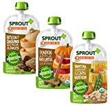 Sprout Organic Baby Food Pouches Stage 3 Plant Powered...