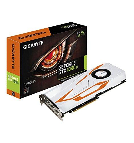 Gigabyte GV-N108TTURBO-11GD AORUS GeForce GTX 1080 Ti Turbo 11G Graphic Cards (Renewed)