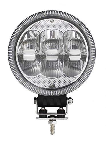 LED Zusatz Fernscheinwerfer rund 12V Fernlicht mit Standlicht 60W Straßenzulassung Positionslicht Straßenzulassung 696m Spot Beam