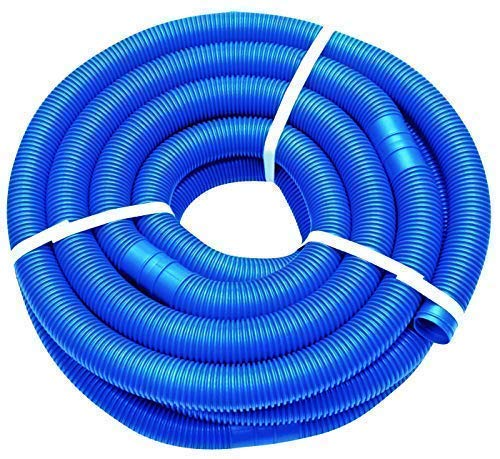 well2wellness 9m Blauer Schwimmbadschlauch Poolschlauch 38mm - teilbar