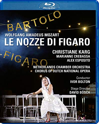 Le Nozze di Figaro - Dutch National Opera 2016 [Blu-ray]