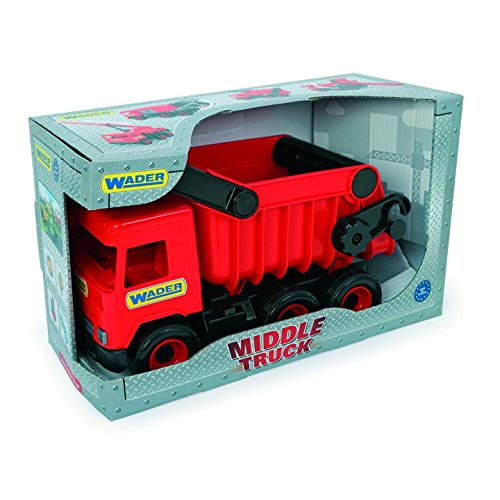 Check Out This Tigres 32111 Auto Middle Trucktipper in A Box, Colour-Red, One Size