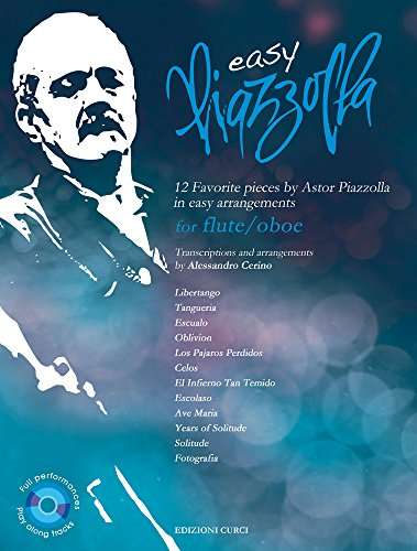 Easy Piazzolla for Flute/Oboe - BOOK+CD