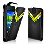 wicostar Vertikal Flip Style Handy Tasche Hülle Schutz Hülle Schale Motiv Etui Karte Halter für Wiko Fever - Variante VER37 Design6
