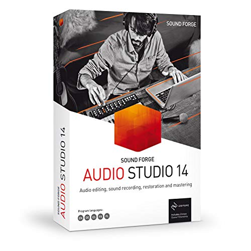 SOUND FORGE Audio Studio|14|1 Device|Perpetual License|PC|Disc|Disc