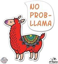 for Tumblers Car Windows Funny Farm Sticker WickedGoodz Llama Vinyl Decal Llama Owner Gift Laptops