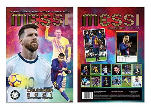 Lionel Messi Kalender 2021 A3 Und Lionel Messi Schlüsselring