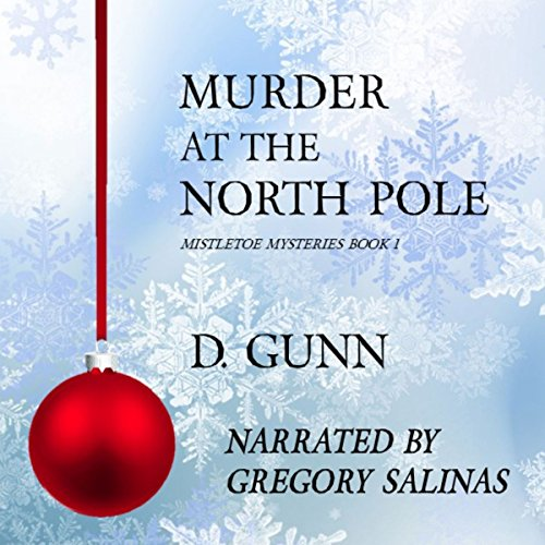 Murder at the North Pole audiobook cover art