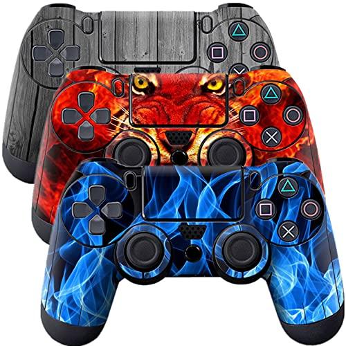 Ps4コントローラー用スキン 3ピース 全身ビニールデカールステッカー プレイステーション4コントローラー用 (PS4コントローラー#1)