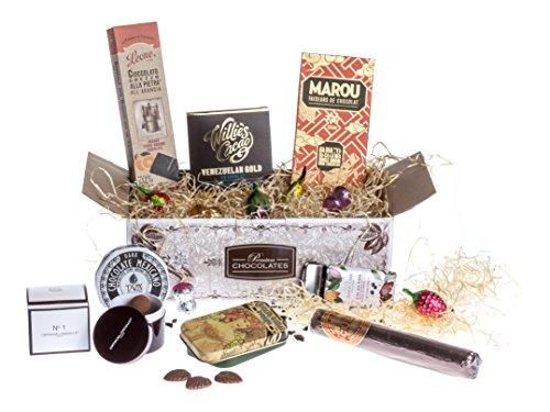 Confezione regalo di pregiato cioccolato