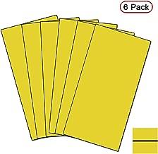 Xlnt Engraving Double Color Sheet, Yellow/Black (12