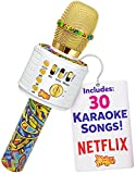 Move2Play Bluetooth Karaoke Microphone Perfect Birthday Gifts for Kids, Toy for 4 5 6 7 8 year old Girls and Boys