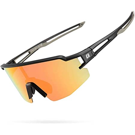 Outdoor Eye Protective Glasses with 3 Interchangeable Lenses for Running Climbing Fishing Driving Golfing UV400 Protection Cycling Glasses for Men Women WESTGIRL Polarized Sports Sunglasses