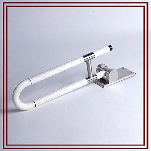 SDKKY Reposabrazos Plegable, Cuarto de baño sin barreras de Nylon barandillas de...
