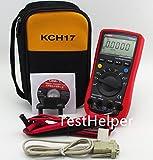 TestHelper UNI-T UT61E With Soft Case KCH17 AC/DC Modern Digital Auto Ranging Multimeters Multitester True RMS