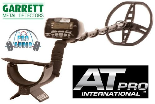 GARRETT AT PRO INTERNATIONAL METAL DETECTOR CERCAMETALLI AGUA MONEDAS DE ORO