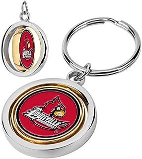 louisville cardinals keychain