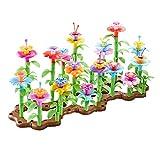 Remoking Flower Building Toy Set、Flower Garden Building Toys、Educational Stem Garden Bouquet Blocks、Diy Creativity Playset Gifts