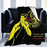 Yaxinduobao Mantas de tiroCobra Kai Blanket All Season Warm Flannel PillingProof for...