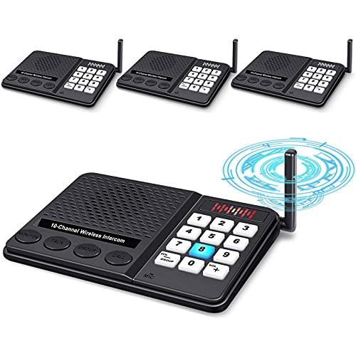 Intercoms Wireless for Home - GLCON Long Range 1 Mile...