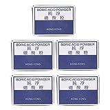 Accesorio de polvo de ácido bórico para soldar 5 piezas, para eliminar impurezas