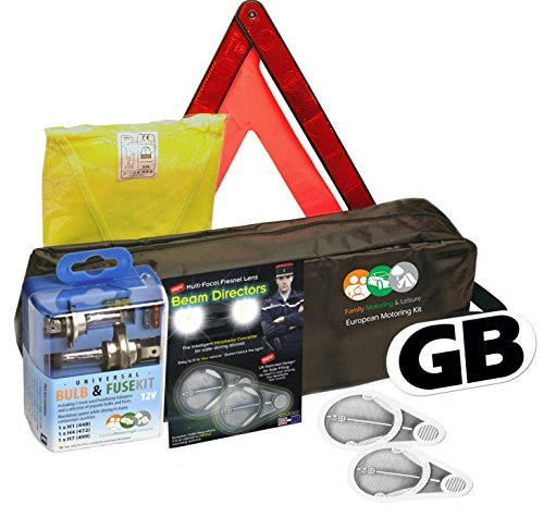 Tow Rope Hi Vis Vest Family Motoring /& Leisure Complete Breakdown Kit Jump Leads and More