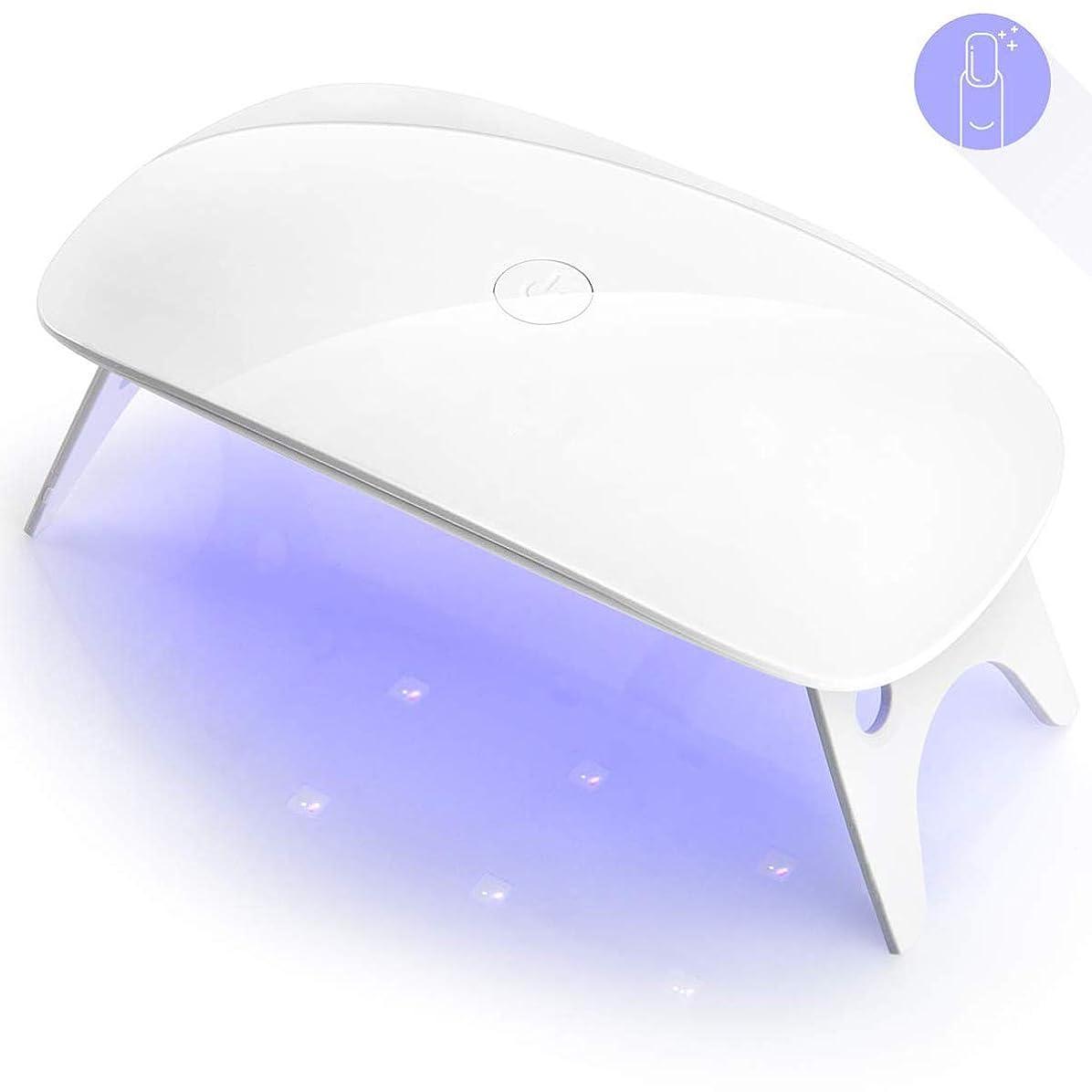 ハンディベーコン感謝LEDネイルドライヤー UVライト 電動ネイルケア 型 携帯バッテリー ネイルケアセットコンパクト コンパクトカメラ