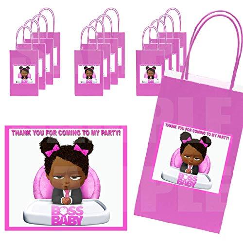 Black Boss Baby GIRL Stickers + Hot…