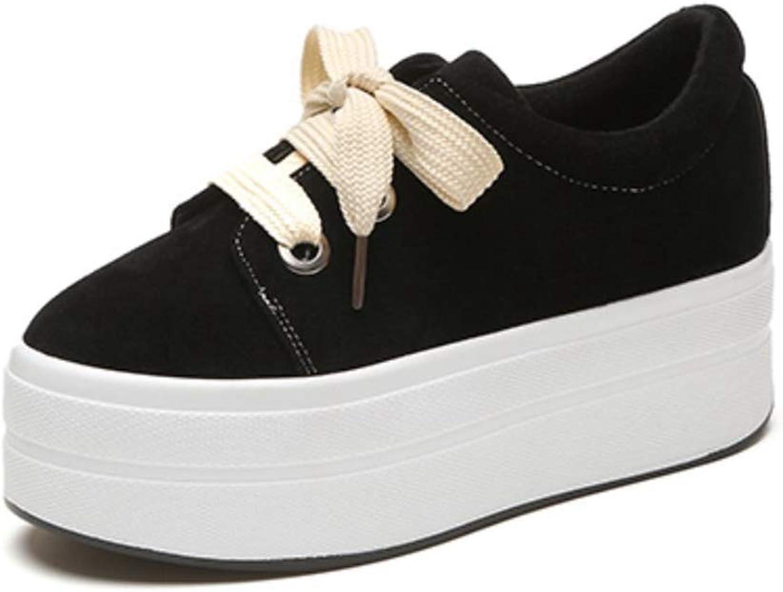 Webb Perkin Women Hidden Heel Height Increasing Casual Female Flats shoes Lady Platform Wedges Suede Sneakers