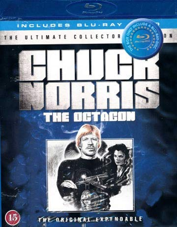 Duelo final / The Octagon (1980) ( The Man Without Mercy ) (Blu-Ray & DVD Combo) [ Origen Danés, Ningun Idioma Espanol ] (Blu-Ray)
