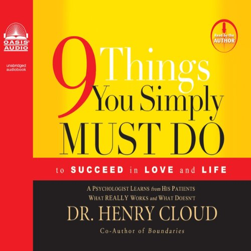 9 Things You Simply Must Do audiobook cover art