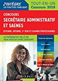 Concours Secrétaire administratif et SAENES (J'intègre la Fonction Publique) - Format Kindle - 9782100790128 - 16,99 €