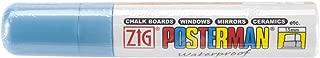 Zig 15mm Posterman Tip Marker, Metallic Blue