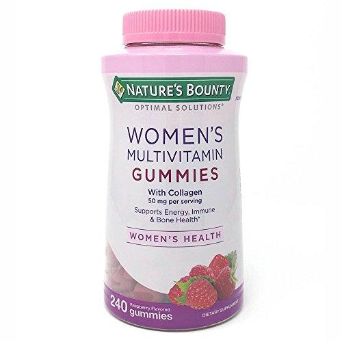 Nature's Bounty Women's Multivitamin Gummies with Collagen, 240 Gummies