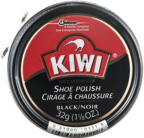 Kiwi 10111 1-1/8 Oz Schwarze Schuhe Polish