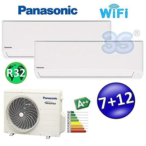 Daikin Bluevolution Climatiseur Trisplit 12000/+/12000/+/12000/BTU//h Inverter avec pompe /à chaleur gaz R32 A+++