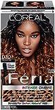 L'Oreal Paris Feria Brush-On Intense Ombre Effect Hair Color, 030 for Black Hair