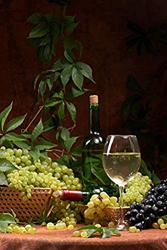 Groene Druiven En Wijn Kinderen Houten Legpuzzels Educatief Spel Speelgoed Educatief Legpuzzel-1000 Stukjes