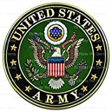 1/4 Sheet Cake - United States Army Logo Birthday - Edible Cake or Cupcake Topper